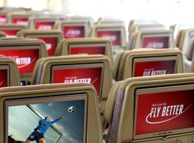Emirates says all England flights to show Live TV football finals
