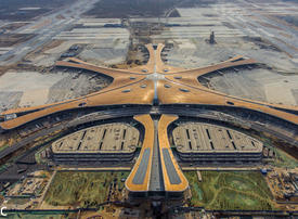 Gallery: A look inside Beijing's glitzy airport designed by Zaha Hadid Architects