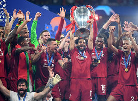 Redemption for Mohamed Salah as Liverpool beat Tottenham to win Champions League