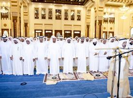 Sheikh Mohammed, UAE royals perform Eid prayer