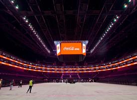 Coca-Cola Arena ready for June 6 debut