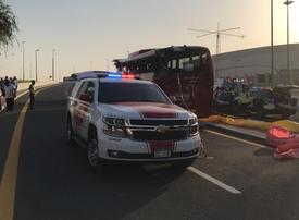 Omani transport operator suspends Dubai-Muscat service after bus crash kills 17 passengers