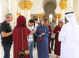 Sheikh Zayed Grand Mosque welcomes thousands during Eid al-Fitr