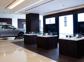 Video: A look inside the world's largest Lincoln showroom in Dubai