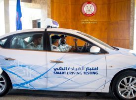 Abu Dhabi launches new 'smart' driving test project