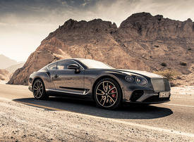 Bentley's Continental GT V8: a car created to be enjoyed