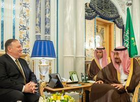 US Secretary of State meets Saudi rulers on Iran crisis