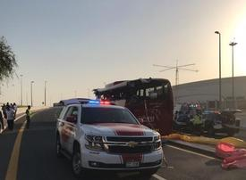 Driver in deadly Dubai bus crash sentenced to seven years in prison