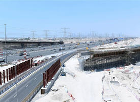 Infrastructure project worth $212m for new Dubai mall 45% complete