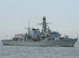 UK to send third Royal Navy warship to Gulf