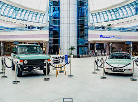 Gallery: Abu Dhabi Police vintage patrol cars on display at Marina Mall