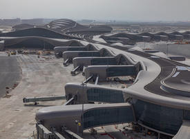 Hundreds take part in Abu Dhabi's Midfield Terminal operational trial