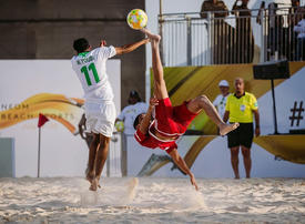 Saudi's Neom targets international beach sports after first event