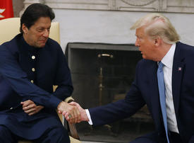 Gallery: Trump meets Pakistani Prime Minister Imran Khan at the White House