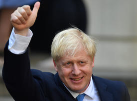 Gallery: Boris Johnson wins the race to become Britain's next prime minister