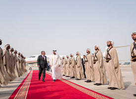 Gallery: Crown Prince of Abu Dhabi receives King of Jordan