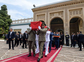 Gallery: State funeral for Tunisia's Essebsi