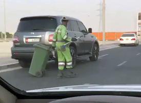 Watch: Video of dancing Abu Dhabi municipal worker goes viral