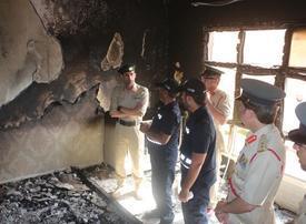 Eight-month old baby dies in Dubai villa blaze
