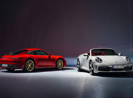 Gallery: Porsche unveils new entry-level 911 Carrera Coupe and Cabriolet