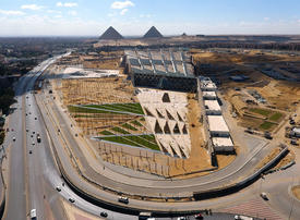 Gallery: Egypt's new $1 billion museum nears completion