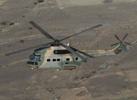 Royal Air Force of Oman rescues expat after fall from ship off Muscat