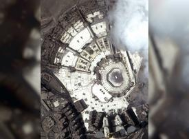 What Makkah's Grand Mosque looks like from outer space