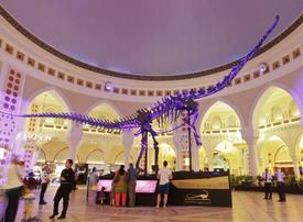 Dubai Mall's dinosaur skeleton to be auctioned online