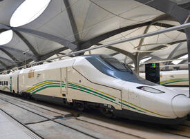 Saudi's Haramain railway cranks up speed to 300km/hr