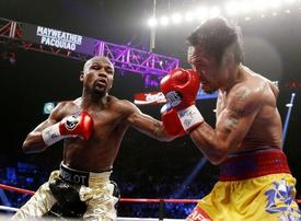 Mayweather shoots down Pacquiao Saudi rematch rumours