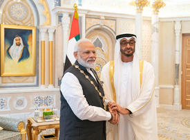Modi honoured with Order of Zayed during UAE visit