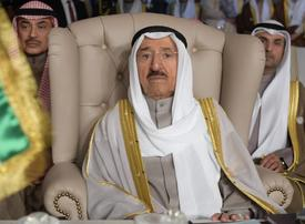 Kuwait emir appears publicly for first time since health scare