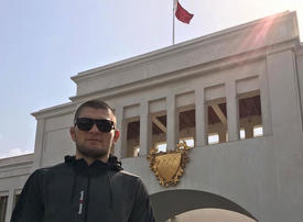 Exclusive: How Bahrain helped make Khabib Nurmagomedov a global UFC star