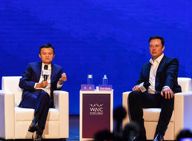 Ma vs Musk: tech tycoons spar on future of AI