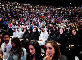 Gallery: Dubai ruler Sheikh Mohammed attends Tony Robbins motivational event in Dubai
