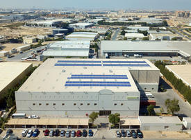 Video: Dubai fashion retailer builds solar plant on warehouse roof