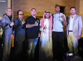 Gallery: Andy Ruiz Jr and Anthony Joshua in Saudi Arabia ahead of December bout
