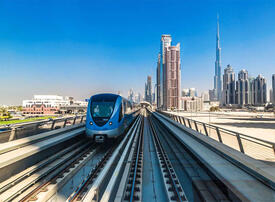 Middle East's $104bn major public transport initiatives can drive future smart cities