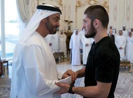 Gallery: Mohamed bin Zayed meets Khabib Nurmagomedov at Qasr Al Bahr
