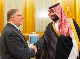 Saudi crown prince hosts Christian evangelicals