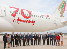 Gallery: Gulf Air's newest 787-9 with a re-designed livery