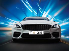 Dubai's RTA launches Expo 2020-branded car number plates