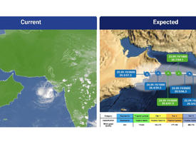 UAE to avoid impact of tropical storm Hikaa - set to make landfall in Oman