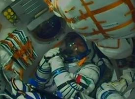 Emirati astronaut blasts off for mission to International Space Station