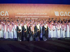 Saudi king opens new terminal at Jeddah airport