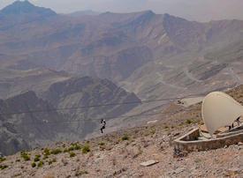 RAK launches new adventure attraction, Jebel Jais Zipline Tour