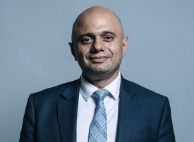UK's Javid pledges major policy response to a no-deal Brexit