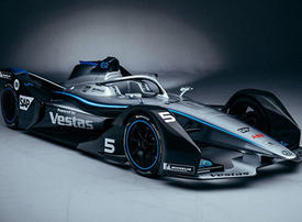Mercedes-Benz Formula E car makes Middle East debut at GITEX