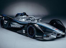 Mercedes-Benz Formula E car makes Middle East debut at GITEX