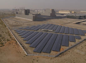 Nestle opens the largest ground-mounted private solar plant in the UAE